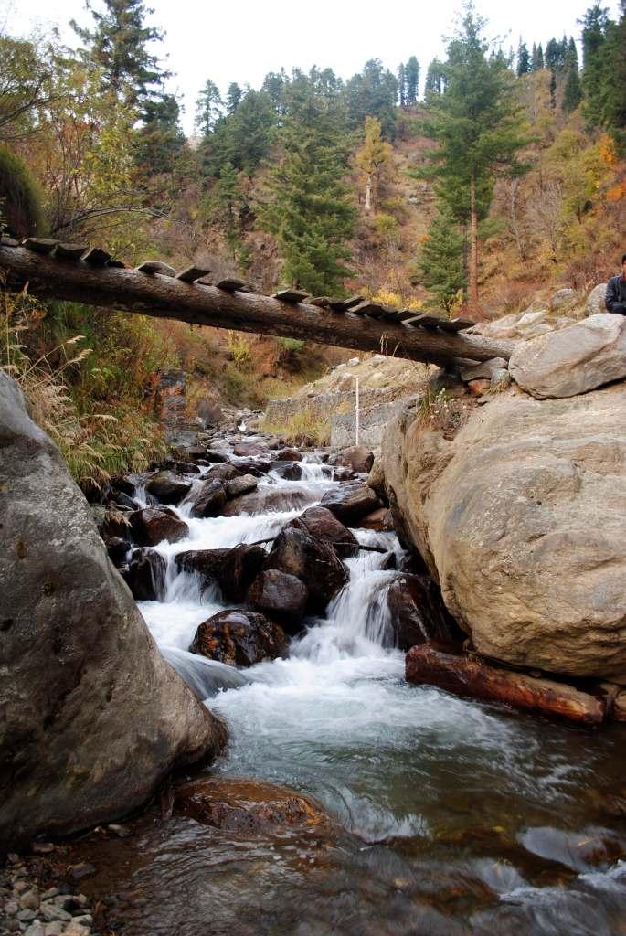 Tosh waterfall