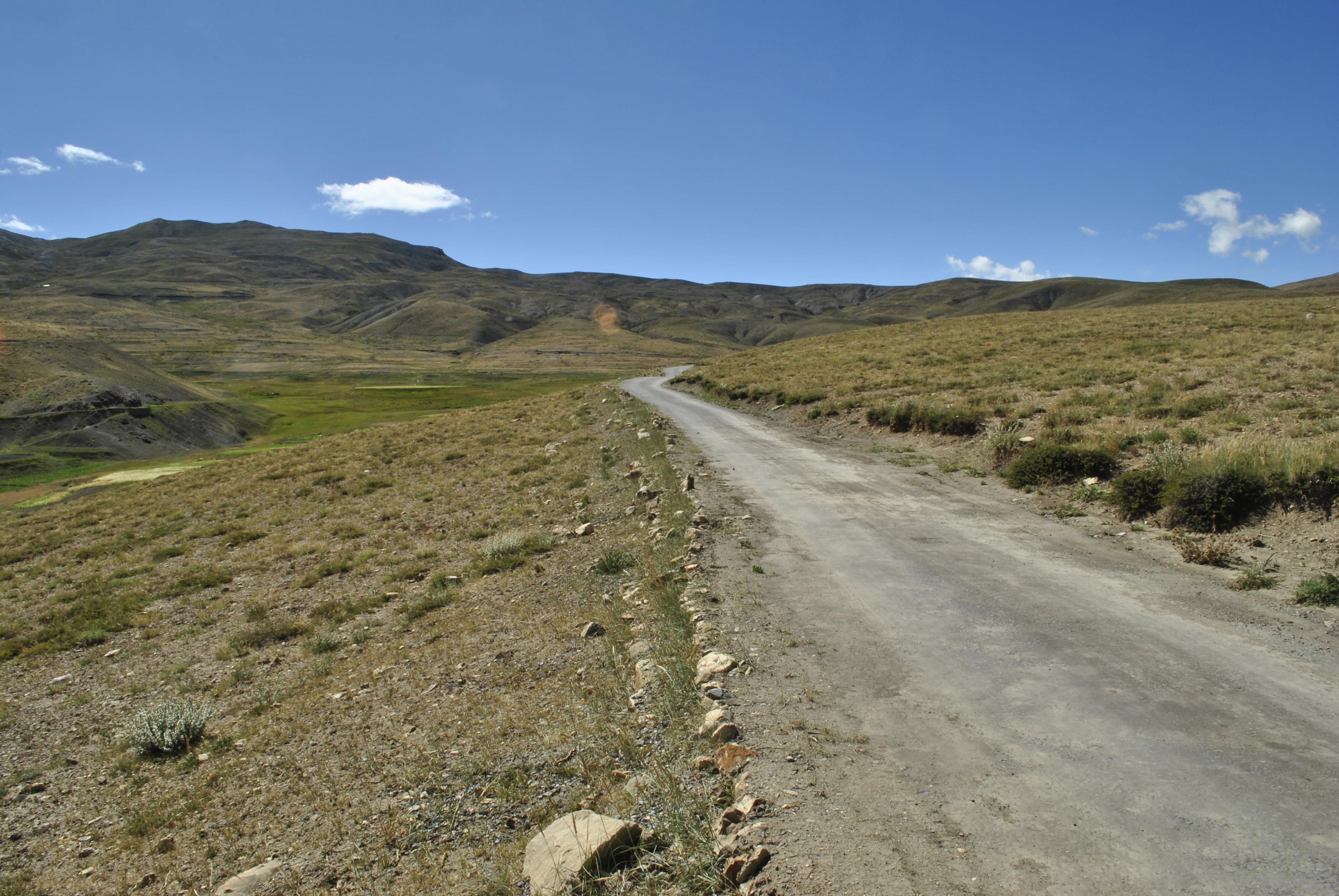 Road to Komik Village Spiti