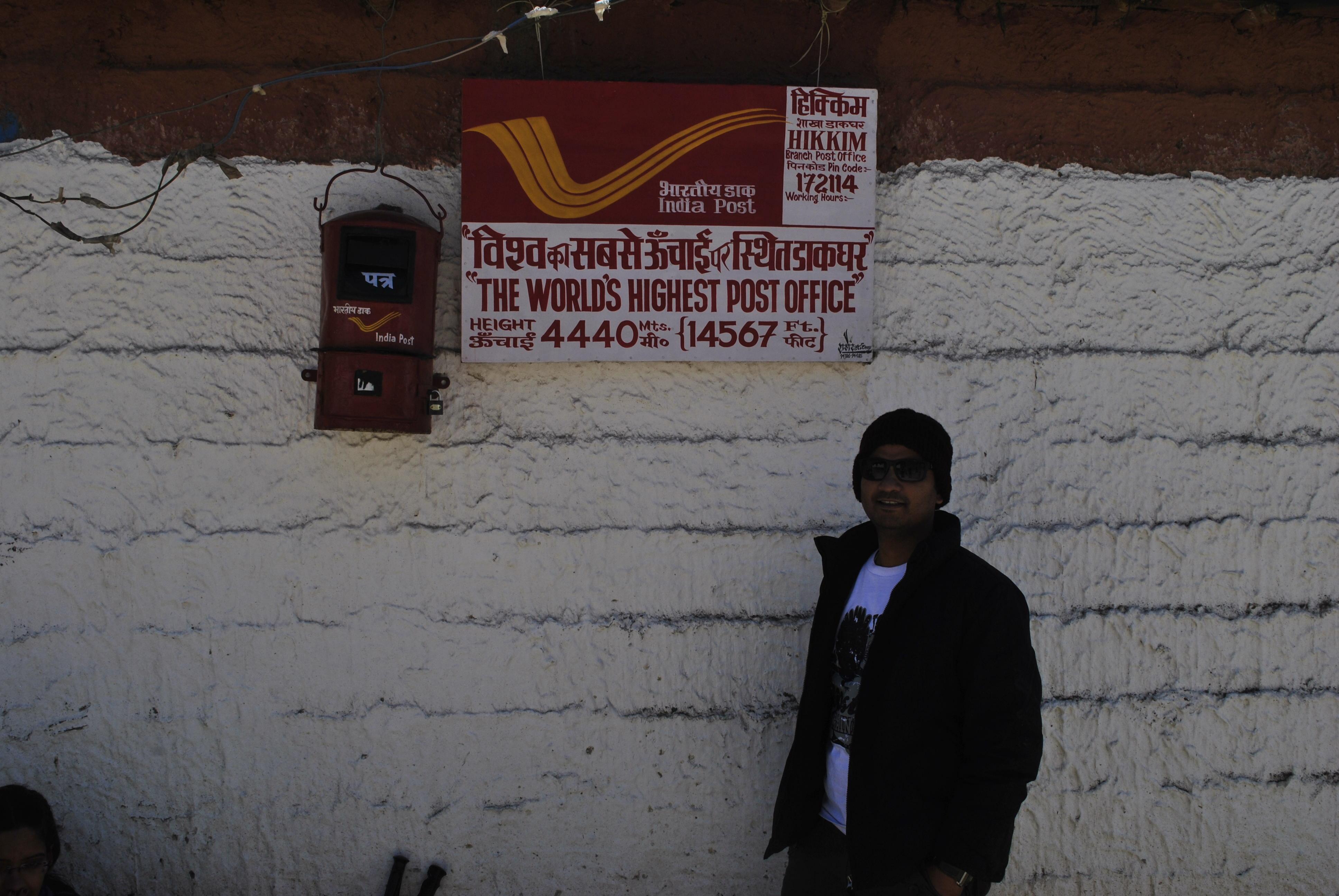 World's Highest Post Office at Hilkkim Village, Spiti Valley