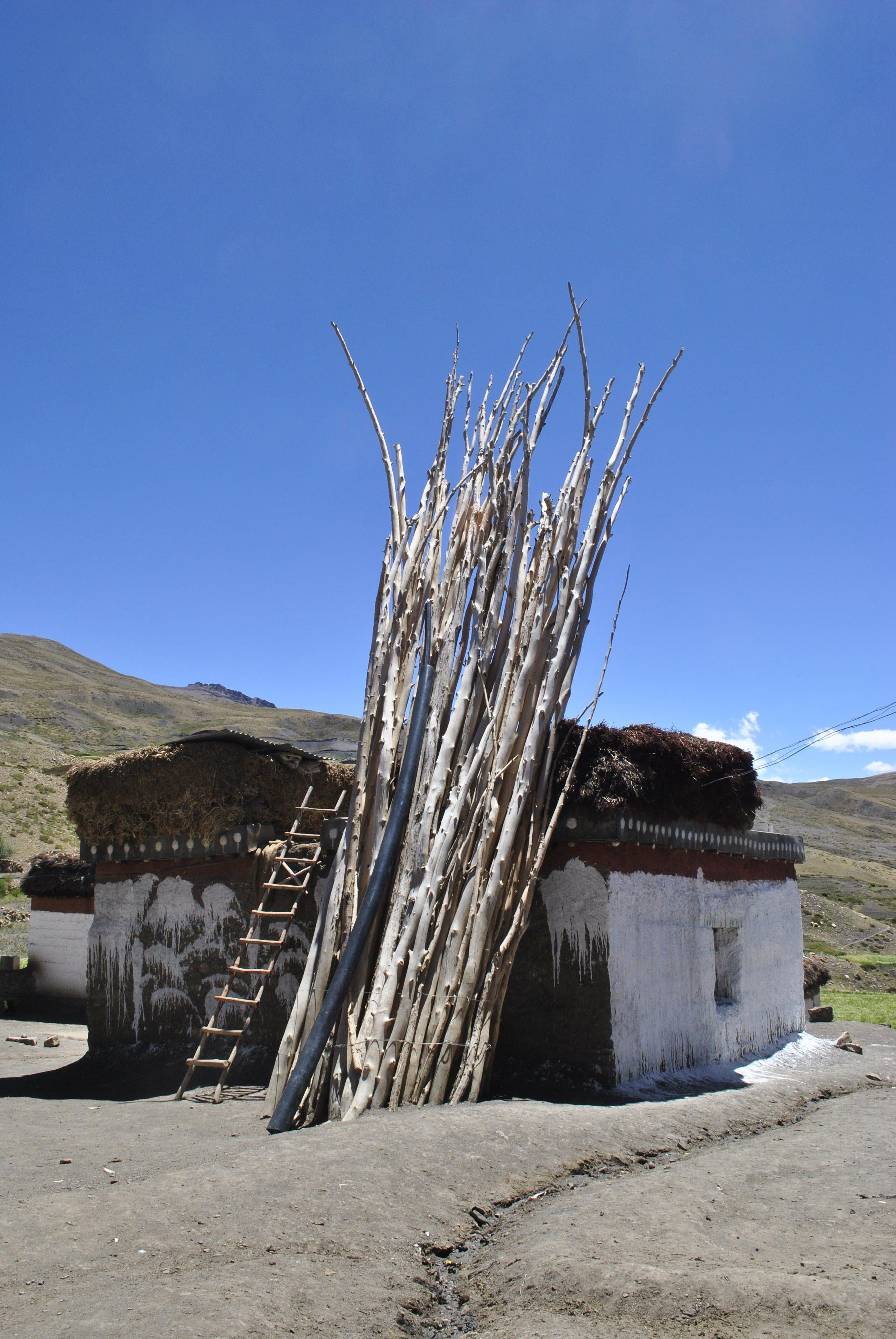 A house in Hikkim Village, Spiti Valley