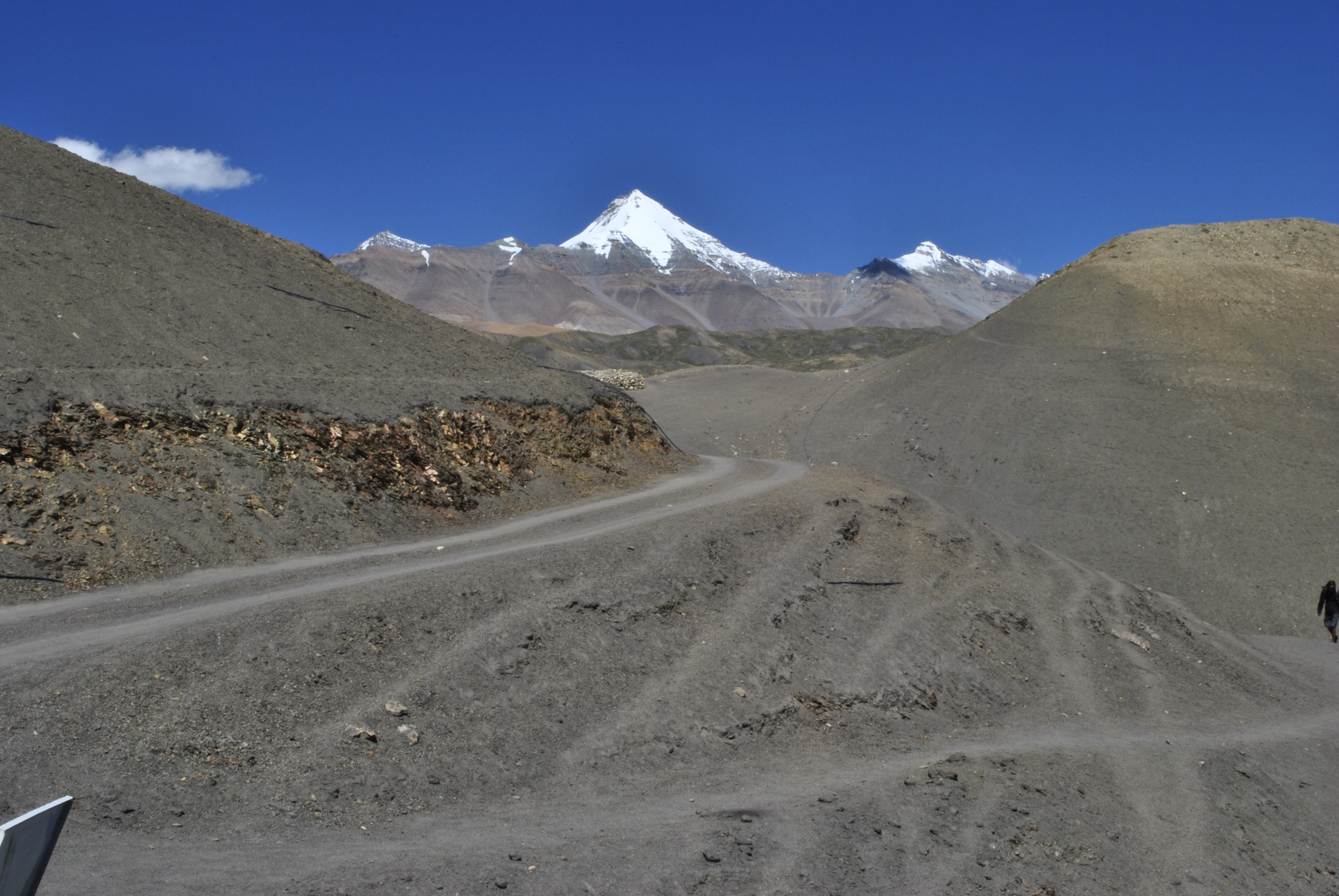 Road to Langza Village, Spiti Valley