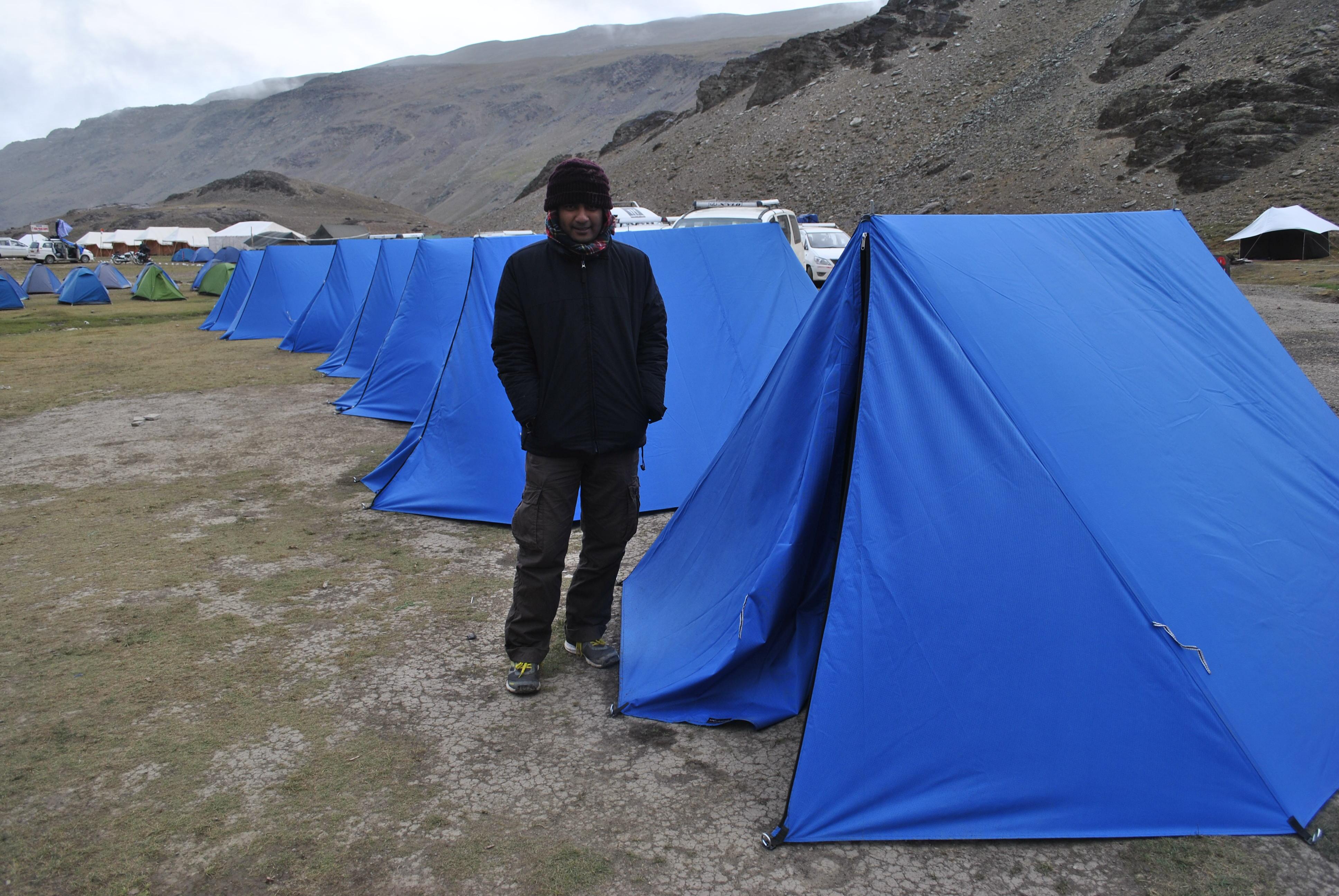 Chandrataal lake camps