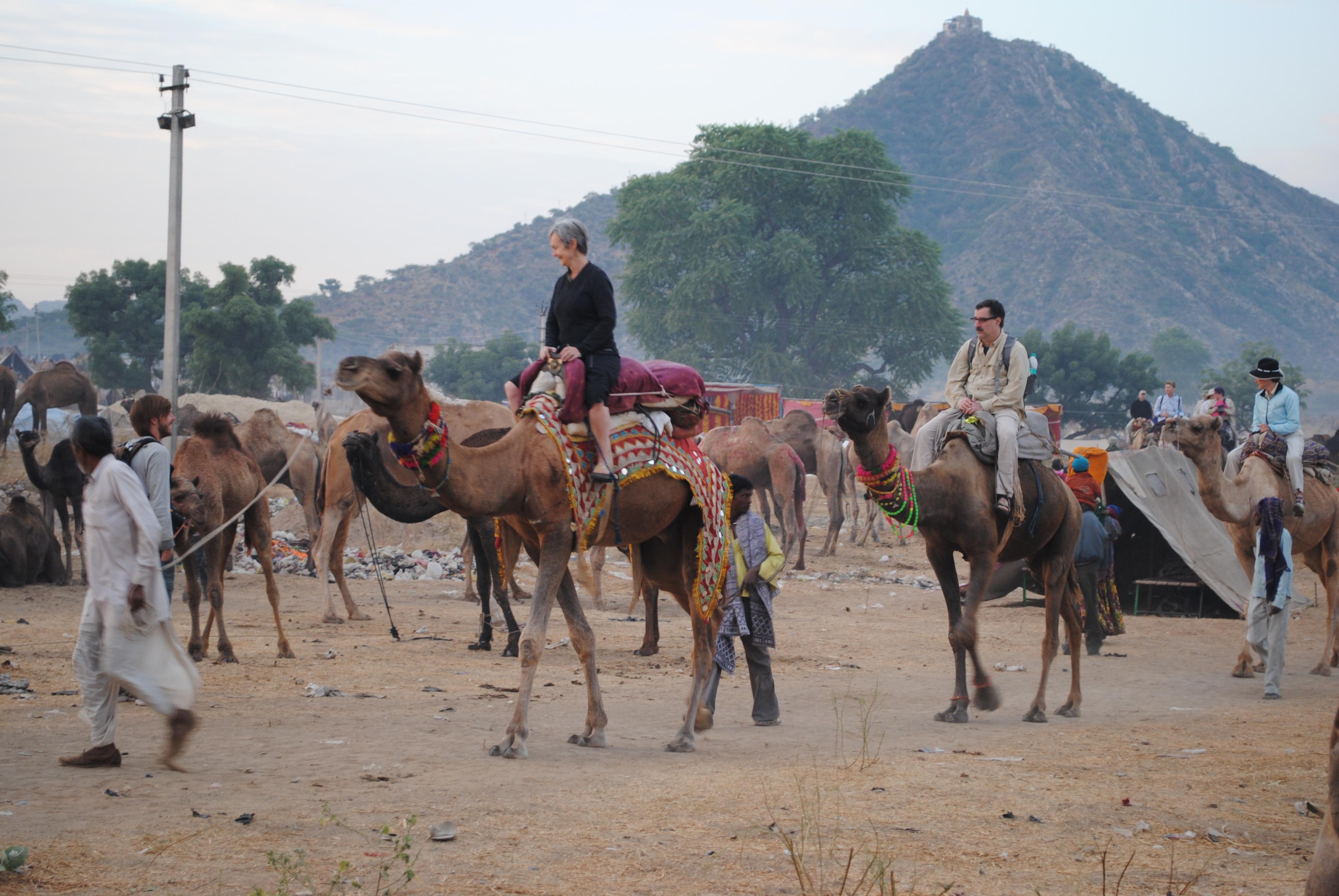 Pushkar Fair Tourists