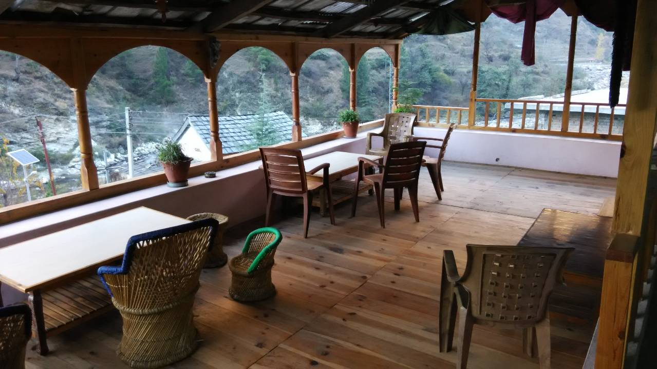 Sitting Area at Khem Bharti Homestay