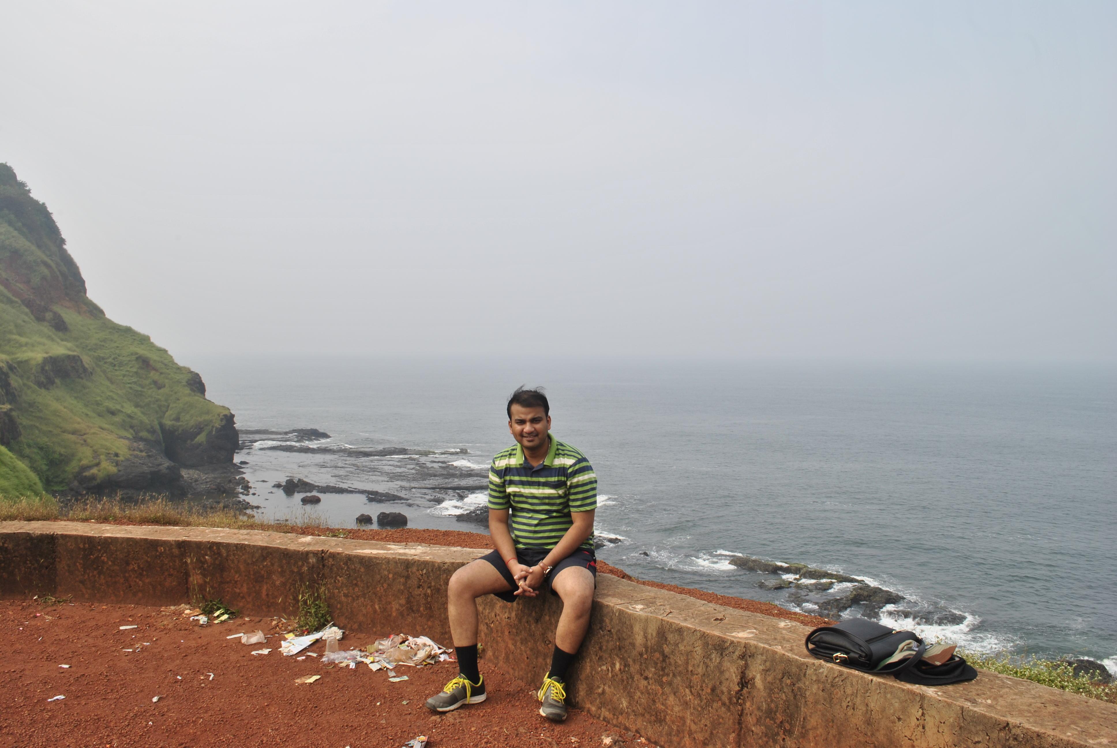 Outside Ratnagiri Fort