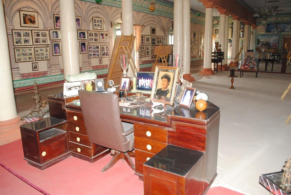 Museum inside Jai Vilas Palace