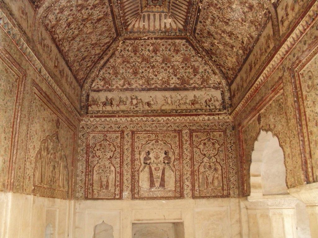 Wall painting Raja Mahal